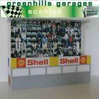 Greenhills Scalextric Slot Car Building Reims Grandstand Kit Slimline 1:43 Sc...