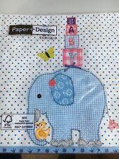 Papier Servietten Baby 20 Stück Paper + Design 33x33 cm