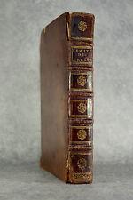 ALEXANDRE JACQUES (OU ALLEXANDRE). TRAITE GÉNÉRAL DES HORLOGES. 1734. HORLOGERIE