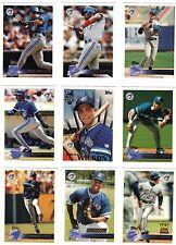 1996 TOPPS TORONTO BLUE JAYS TEAM SET Roberto Alomar Joe Carter Paul Molitor 15