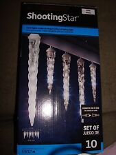 SHOOTING STAR LED LIGHT SHOW WHITE ICICLE LIGHTS