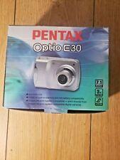 PENTAX Pentax Optio E30 7.1 MP Digital Camera - Silver (18836)