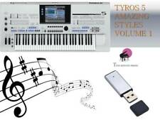 ''TYROS5 USB-Stick+AMAZING STYLES volume 1''