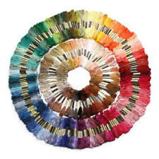 250 madejas de hilo para tejer punto de cruz bordado crochet multicolor P7