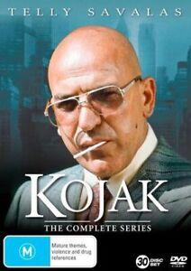 Kojak : Complete Series Box Set ( DVD ,30 Disc Set ) BRAND NEW REGION 4