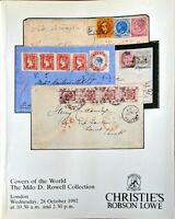 Auction Catalogue Covers of the World - MALAYA & JAPANESE OCCUPATION HONG KONG