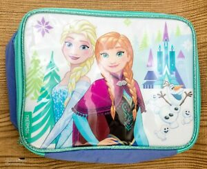 Disney Frozen Thermos Soft Lunch Box Soft Bag Elsa and Anna