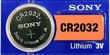 Sony CR 2032 - 3 Volt Lithium Cell Batteries (Single-Battery)