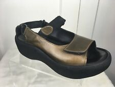 Wolky Jewel Patent Leather Slingback Sandals Walking Shoe Women Sz 36/5.5-6 VGUC