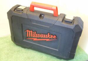 Genuine Milwaukee Reciprocating Saw Carry/Storage Case +Manuals For C12 HZ-202C