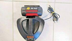 BOSCH Schnellladegerät AL3640CV  mit Bosch 36V Akku für ROTAK 34 37 43 Li