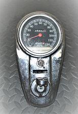 Vintage HARLEY DAVIDSON Motorcycle Speedometer
