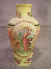"""Pompadour Scenic 8 1/2"""" Tapestry Vase"""