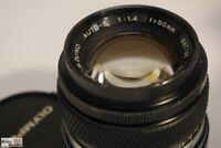 Olympus Objektiv G.Zuiko OM 1,4/50 mm an Micro-Four-Third digital (= 100 mm)