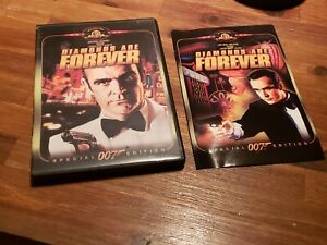 Diamonds Are Forever (DVD, Widescreen, Special Edition, 1971, 2000) Sean Connery