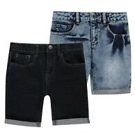 Boys Firetrap Stretch Soft Casual Stylish Denim Shorts Sizes Age from 2 to 7 Yrs