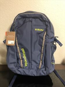 Patagonia Refugio Pack 28L Dolomite Blue One New W/Tags Subaru Embroidered