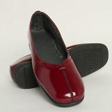 Ladies Van DAL Falmouth Low Wedge Heel Smart Shoes Bordo 4.5 UK D