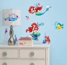 ARIEL LITTLE MERMAID wall stickers 43 decal Disney room decor Flounder Sebastian