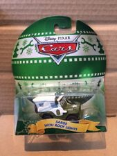 """DISNEY CARS DIECAST - """"Sarge With Roof Lights"""" - Christmas Edition"""