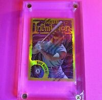 MARK MCGWIRE 1996 Topps Finest GOLD REFRACTOR Intimidators Rare #74 MINT