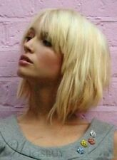 Layered Blonde Short Capless Wig Hair 10 Inches