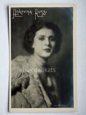 ANDREINA ROSSI attrice cinema muto silent movie foto Crimella