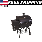 Camp Chef Smoke Pro SE Pellet Grill Backyard Outdoor Temperature Gauge Black