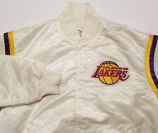 Vintage Los Angeles Lakers NBA Starter Satin Snap Made  in USA Mens Large Jacket