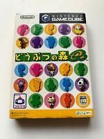 Nintendo Game Cube Doubutsu no Mori e+ Plus Animal Crossing with card JAPAN ver,