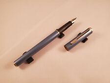 Sheaffer Agio Glittery Light Blue Fountain Pen - New Old Stock
