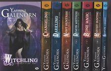 LES SOEURS DE LA LUNE tomes 1 à 8 + Hors Série Yasmine Galenorn Milady roman