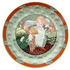 Heinrich Once Upon a Rhyme A Tisket A Tasket Renee Faure Plate Nursery Plates
