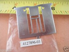 Husqvarna Viking NEEDLE PLATE ZigZag for DESIGNER SE Inch Markings #4127896-03