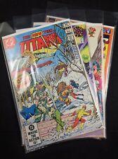 The New Teen Titans New Titans Team Titans Lot 4 DC Comics 0 3 19
