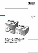 HP LaserJet 5000/5000N/5000GN Printer Service Manual
