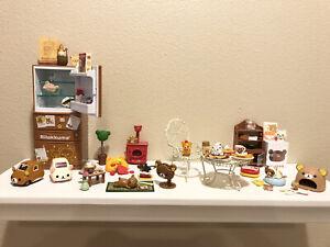 Rilakkuma Rement LOT Japan Miniatures Refrigerator Cat Beach Nordic Egg Kitchen