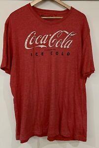 Coca-Cola T-Shirt Top Vintage Look 4XL