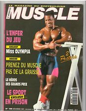Le Monde Du MUSCLE #106 bodybuilding magazine SHAWN RAY 12-91 (Fr)