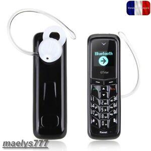 Mini Telephone Portable oreillette GTstar BM50 Bluetooth usb changeur de voix.