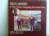 TROY  RAMEY AND THE SOUL SEARCHERS       LP      TRY  JESUS