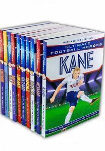 Ultimate Football Heroes collection 10 books set Ronaldo Hazard Tom Oldfield NEW