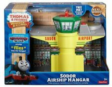 SODOR AIRSHIP HANGAR Airport Thomas Tank Engine Wooden Railway NEW IN BOX