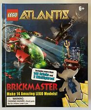 Lego Atlantis Brickmaster 7 in 1 book - Complete and In Great Condition