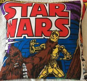 Star Wars Chewbacca C3P0 Handmade cushion cover 16inch