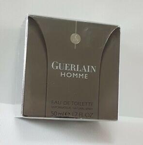 GUERLAIN HOMME Eau de Toilette 50ml SPRAY ( SEALED BOXED ) RARE*****************