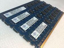 Nanya  Desktop Memory 8GB 2GBx4 PC3-10600 2Rx8 DDR3-1333MHz NT2GC64B8HC0NF-CG