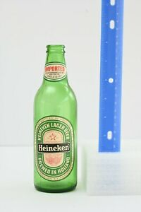 Heineken Bottle, Vintage Beer Bottle, 1970s