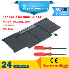 """A1377 A1405 BATTERY FOR MacBook Air 13"""" A1369 late-2010 mid-2011 A1466 mid-2012"""