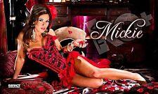 TNA Mickie James Moulin Rouge 3' X 5' Banner, WWE, MCW, OVW, ROH, WWC, WSU, PWE